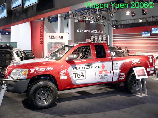 cars trucks ralliart mitsubishi sema2006 mitsubishiraider