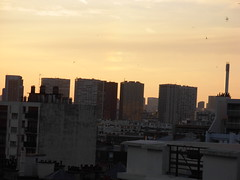 sunset over grenelle
