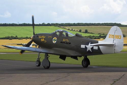 Warbird picture G-CEJU 219993 Bell P-39 Airacobra - Duxford Flying Legends 2007