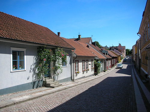Wandering through time in old Mariestad #1
