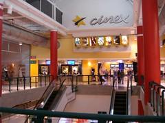 Cinex Metrópolis - fachada interior