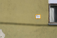 Attila utca (sonofsteppe) Tags: street old shadow urban detail building green art texture window wall architecture composition facade mural hungary exterior finding budapest olive line explore simplicity 60mm minimalism visual simple thewall sparse peeled fragment ilmuro asymmetric wallscape sonofsteppe pusztafia