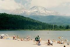 crowds at lake siskiyou tourism