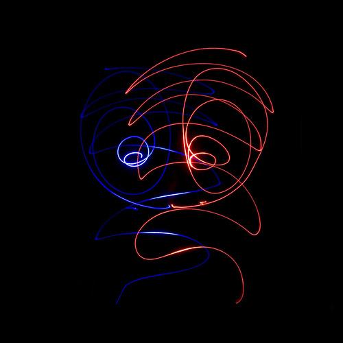 Прикольные фотки: рисование светодиодами