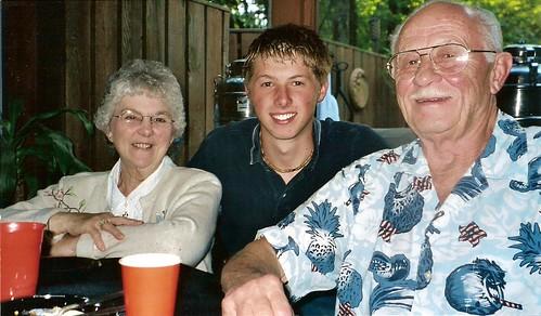 Grandpa & Grandma Reep
