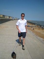Ben and toby on felixstowe seafront