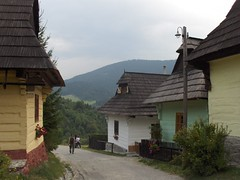 Vlkolnec - Velka Fatra Mountains, Slovakia (LeszekZadlo) Tags: voyage travel mountains building heritage architecture ancient village urlaub country culture unesco worldheritagesite slovensko slovakia woodenhouse sites podr ph209