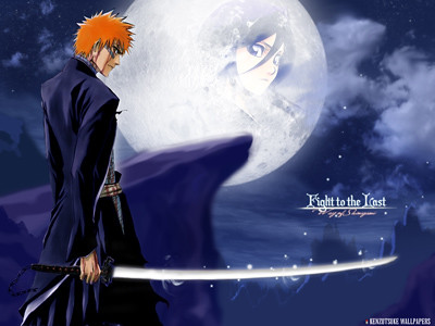 bleach wallpaper psp. Bleach Ichigo Wallpaper