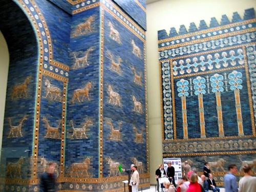 Ishtar Gate. Pergamon Museum.