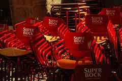 Super Bock (Le Jhe) Tags: deleteme5 red deleteme8 deleteme deleteme2 deleteme3 deleteme4 deleteme6 deleteme9 deleteme7 portugal topv111 chairs deleteme10 porto superbock faved straightfromthecard nikonfrance