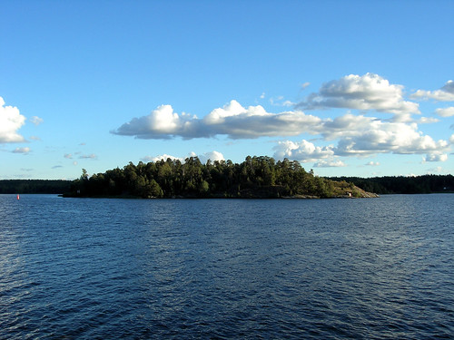 View from Hasselby strand, Stockholm