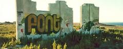salento mon amour - front (v3rbo.com) Tags: streetart art landscape graffiti letters canvas font lettering orte salento verbo meta2 italianstreetart