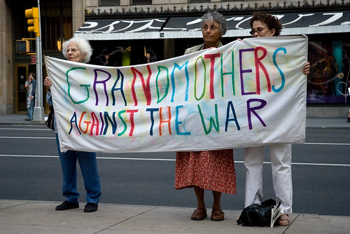 Grandmother Against the War III