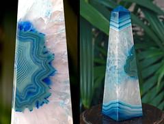 Agate Obelisk (schwigorphotos) Tags: agate geode