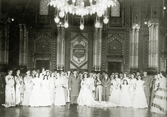 The second royal wedding (Kodak Agfa) Tags: people history vintage 1930s egypt royal farouk 1940s 1950s egyptian mideast royalfamily kingfarouk