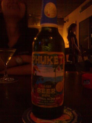 tasty Phuket beer