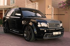 Follow The beauty of R A N G E (  7  Londoning..) Tags: dubai rover super range overfinch charged hst