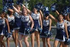 California Cheerleaders Skirts Too Short for School