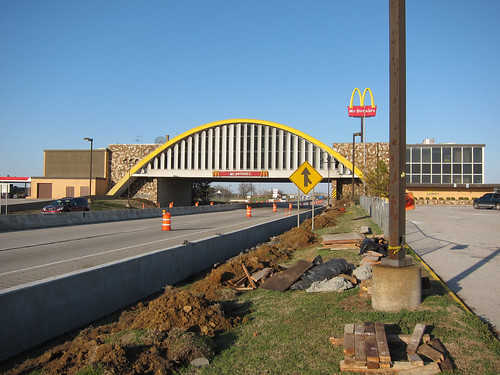 McDonald's Over I-44 in Oklahoma