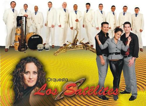 Los Satélites 2010 - orquesta - cartel