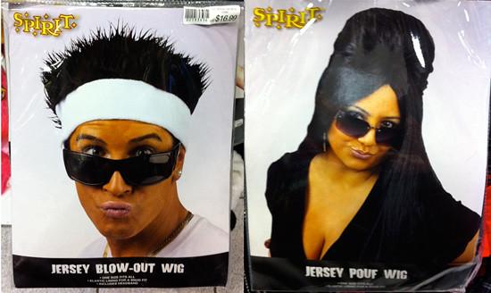 Jersey Shore Wigs