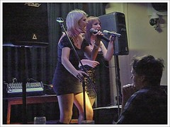 Vocal Duo : the G-String ladies performed last at the Ilkeston Carlton Club's Annual Charity Night on 28th October 2010. (Lenton Sands) Tags: gstring ilkeston carltonclub femalevocalduo