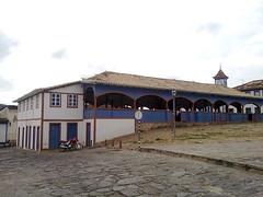 Diamantina, Minas Gerais. Mercado dos Tropeiros. Construído em 1835 por Joaquim Cassimiro Lages (Simone Bessa) Tags: whbrasil