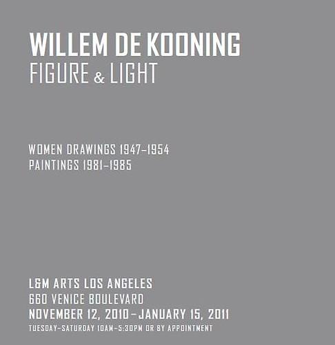 Willem De Kooning L&M Arts
