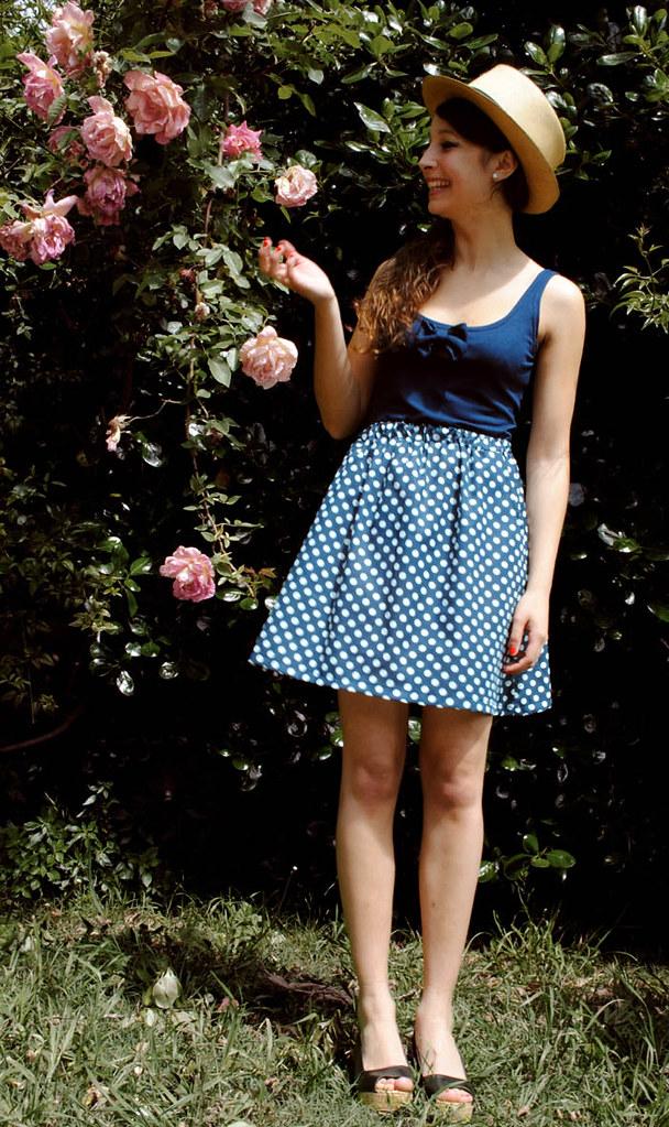 vestido lunares 2