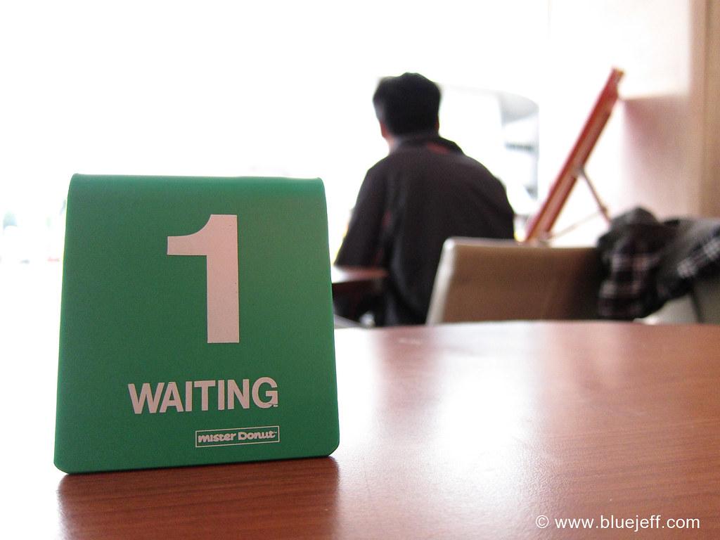 Waiting Here