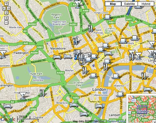 Free wifi access at a café near you : London Blog