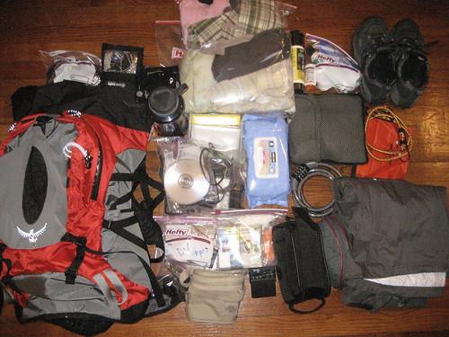 travel packing backpackingsoutheastasia