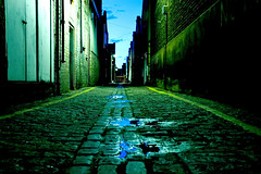 At three in the morning... (Dave Gorman) Tags: night alley cobbles vsst fbps