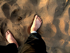 I belong to the Earth (Ehsan Khakbaz) Tags: man foot sand earth ground belong mankind ehsan      ehsankhakbaz  khakbaz