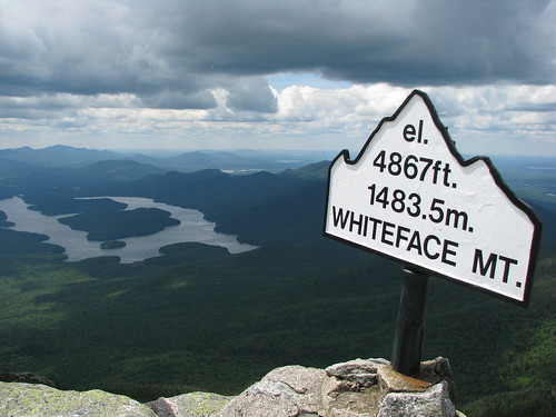 Top of Whiteface Mtn