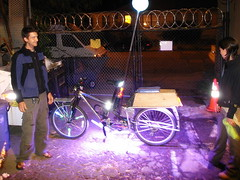 Royale Purple Down Low Glow bicycle lights
