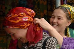 Audrey in Turkmenistan