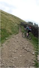 Climbing to Winston Lee Tor
