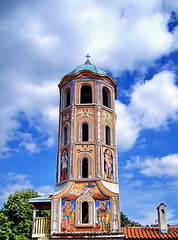 (Emilofero) Tags: tower church architecture europe religion churchtower belltower belfry bulgaria christianity orthodoxy rodopi asenovgrad christiandom bachspicsgallery