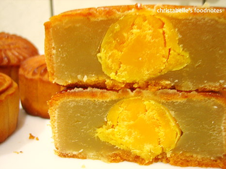 google月餅蓮蓉蛋黃口味