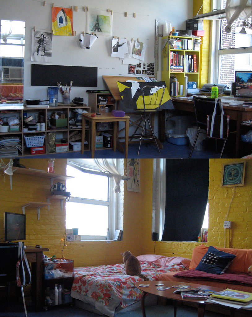my studio from both sides