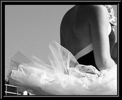 Project 365-82/9.29.07 (lifeasiseeit) Tags: blackandwhite back dance ballerina calm serene tutu project36582 flickrchallengegroup 92907