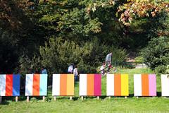 documenta 12 | Poul Gernes / Stripe Series Paintings | 1965/2007 | near Neue galerie
