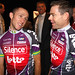 AUSSIES MATTHEW LLOYD AND CADEL EVANS