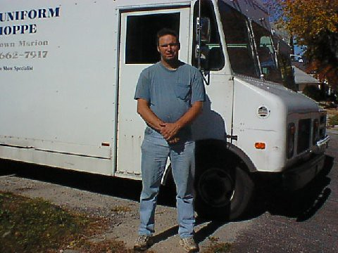 A Photo Of Me And My Chevy Stepvan