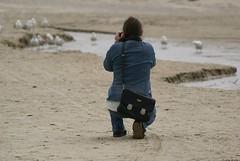 Shooting Jaedde.... (Jaedde & Sis) Tags: me photographing shooter behind jette storybookwinner pregamewinner blokhus denmark challengeyouwinner matchpointwinner t532 mpt532