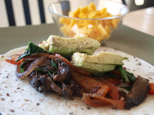 Seared Portobello Fajitas