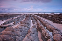 A Slice of Devon (Duncan George) Tags: uk sea seascape beach nature landscape dawn coast landscapes seaside sand nikon rocks devon coastline geology seashore atlanticocean westcountry rockpools northdevon welcombe morwenstow southwestengland geologicalformation d700 welcombemouth