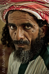 Valley man (ali serhani) Tags: portrait man heritage history wear valley saudi civilization arabian popular      touhami