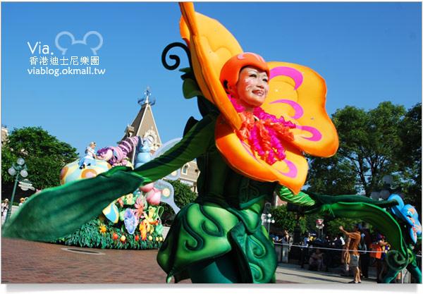 【香港迪士尼】跟著via玩香港(3)~迪士尼卡通人物歡樂巡遊28